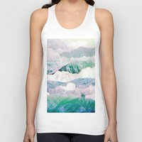 wind Tank Tops featuring wind. by Monika Traikov