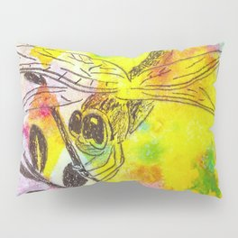 If We Travel By Dragonfly Pillow Sham