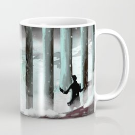 Strange lights in the woods Coffee Mug