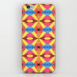Groovy pattern iPhone Skin
