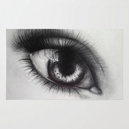 Eye Sketch 1  Rug