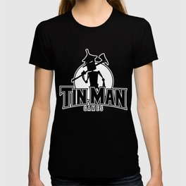 Tin Man Games logo T-shirt