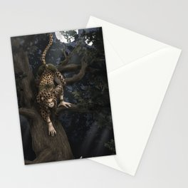 Hunting by Moonlight Stationery Cards