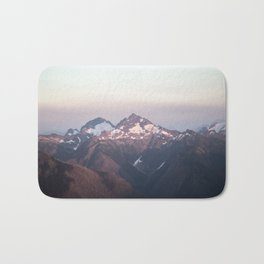 Pastel Mountains Bath Mat