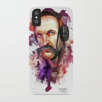 springsteen iPhone & iPod Cases featuring Cossack Ivan Sirko listen music by Sitchko Igor
