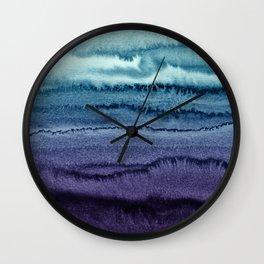 WITHIN THE TIDES EARLY SUNDOWN by Monika Strigel Wall Clock