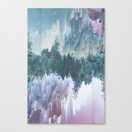 Glitched Landscapes Collection #5 Canvas Print