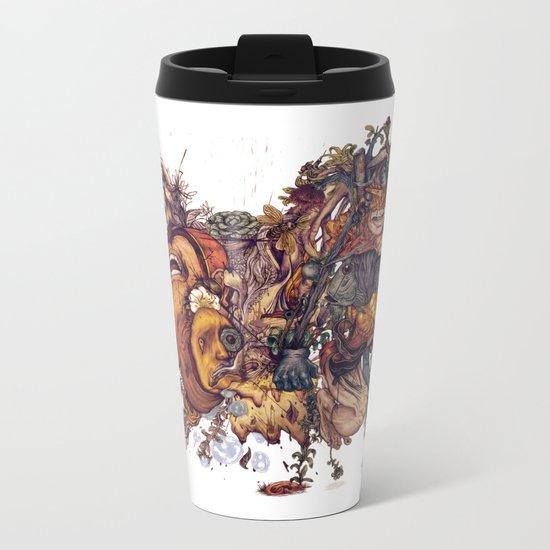 seam imaginations No.2 Metal Travel Mug