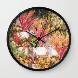 Cute plants Wall Clock