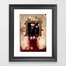 grasping but never reaching Framed Art Print