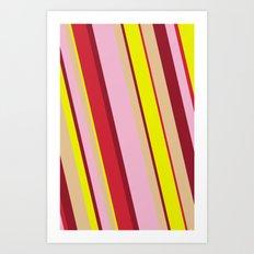 happy tones Art Print