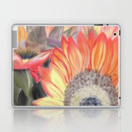 Fall Sunflowers Laptop & iPad Skin