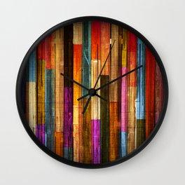 Wood Texture 640 Wall Clock