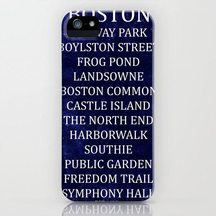 Boston 2 iPhone Case