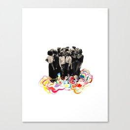 We are all cool though! Canvas Print
