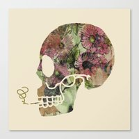 death Canvas Prints featuring Death by Farnell