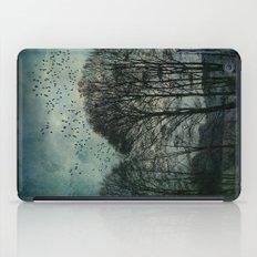 Textured Trees iPad Case