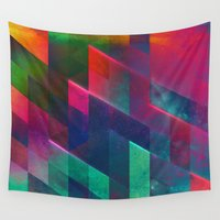 let it go Wall Tapestries featuring let go by Spires