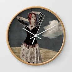 Gypsy Afternoon  Wall Clock
