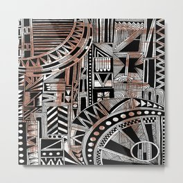 Systematic Chaos 5 Metal Print