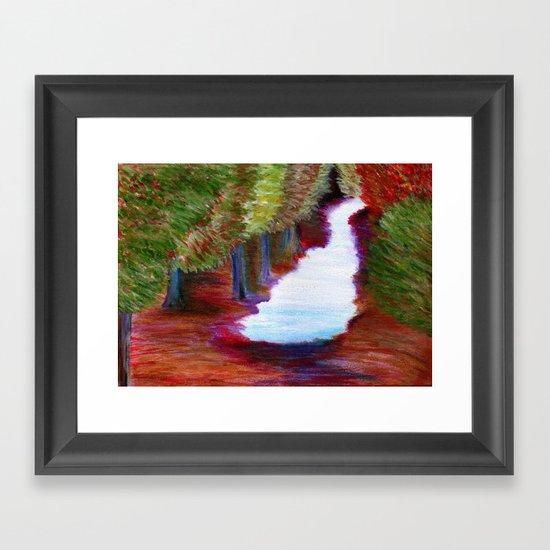 Captivated Forest Framed Art Print