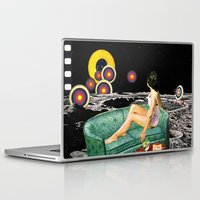 northern lights Laptop & iPad Skins featuring Northern Lights by Eugenia Loli