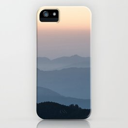 Nepal Poon Hill iPhone Case