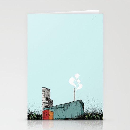 The plant / Anrikningsverket Boliden Stationery Cards