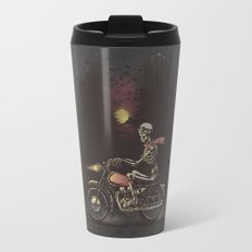 Death Rides in the Night Travel Mug