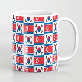 Mix of flag: South and North Korea Coffee Mug