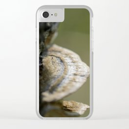 Tree mushroom Clear iPhone Case