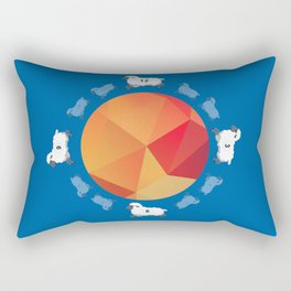 WALL CLOCKS Rectangular Pillow