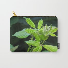 Blackberry Leaves Carry-All Pouch