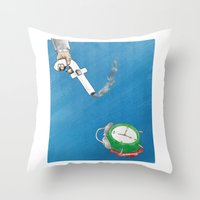 facebook Throw Pillows featuring Facebook  by gunberk