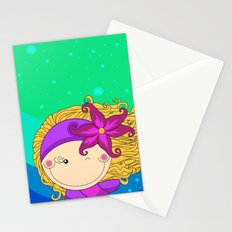 Unique, creative and very colorful, original,digital children illustration Stationery Cards