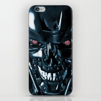terminator iPhone & iPod Skins featuring The Terminator by Photographicleigh