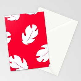Lilo Hawaiian Floral Leaves Stationery Cards