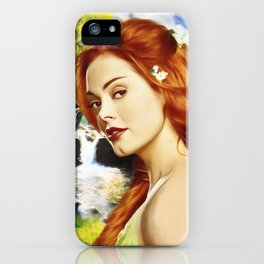 Charmed Nymph iPhone Case
