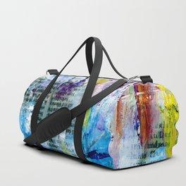 newspaper landscape Duffle Bag