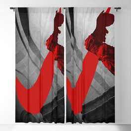 The Winged Victory Of Samothrace Blackout Curtain