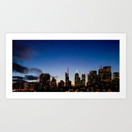 Skyline - The Darkness Is Coming Art Print