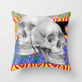 Skull Skull  Throw Pillow