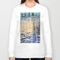 marine Long Sleeve T-shirts featuring marine reflection by  Agostino Lo Coco