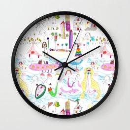 planeta jana Wall Clock