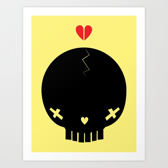HEART BREAKER - ed. fact Art Print