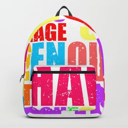 Courage to start  Backpack