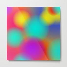 Ombré Colorful Multicolor Gradient / GFTgradient023 Metal Print