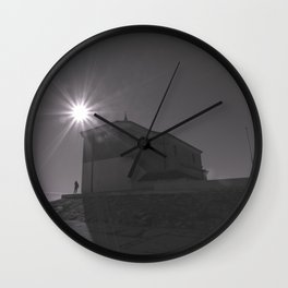 A church (against the sun) Wall Clock