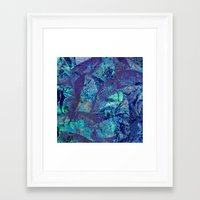 mineral Framed Art Prints featuring Mineral  by M. Noelle Studios