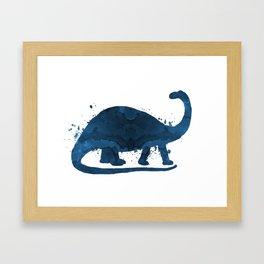 Brontosaurus Framed Art Print